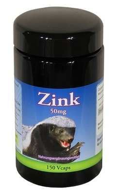 Zink 50mg, 150 Vcaps
